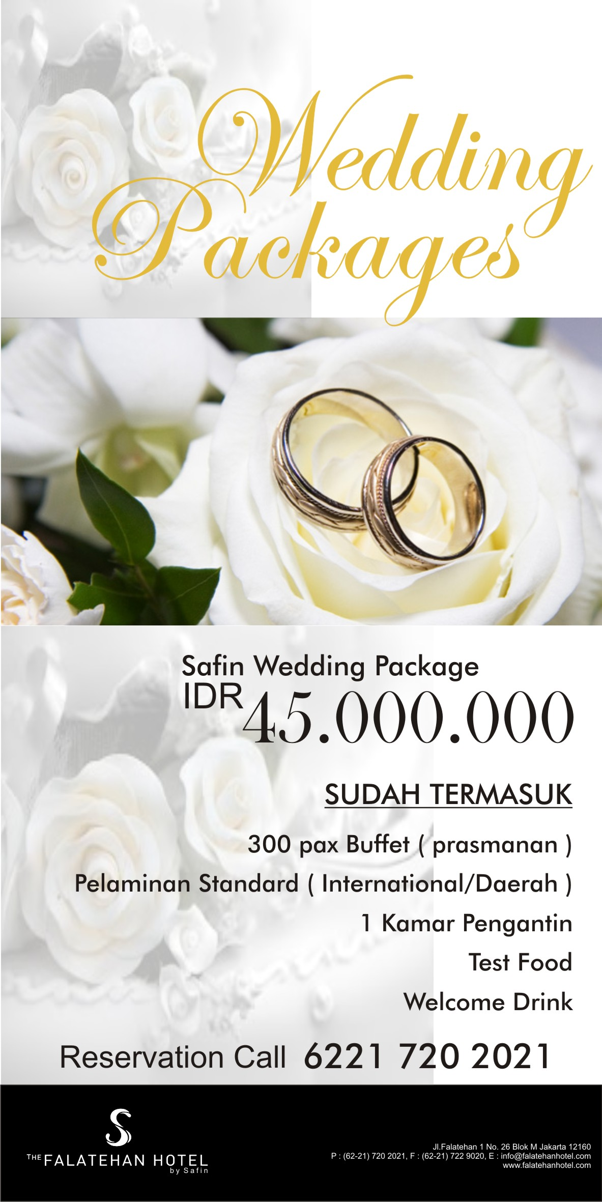 promo wedding packages